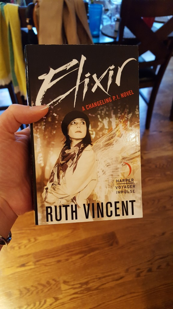 Signed copy of ELIXIR giveaway!
